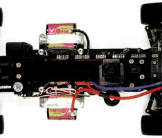 David Jun chassis original © RC Car Action 04/1997