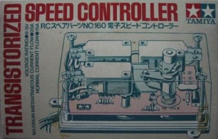 Tamiya Transistorized Speed Controller