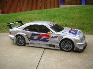 Tamiya 58260 Mercedes Benz CLK DTM 2000 Team D2