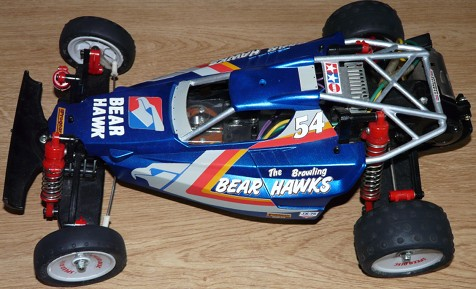Tamiya 58093 Bear Hawk as it arrived