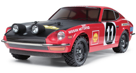 Tamiya 58459 Datsun 240Z Rally Version