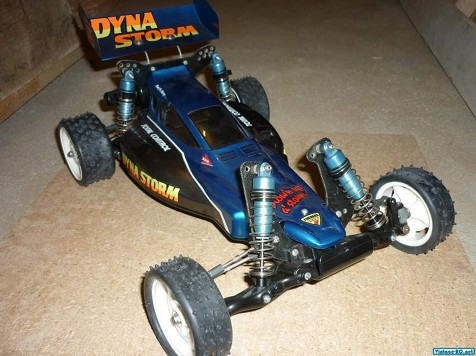 Tamiya 58116 Dyna Storm as it arrived