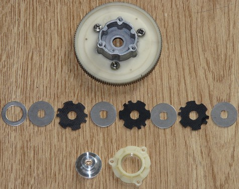 Tamiya 58116 Dyna Storm Multi Disc Clutch