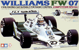 Tamiya 58019 Williams FW07 (CS)