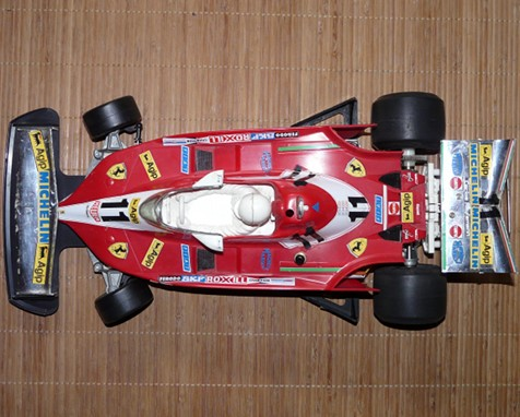 Tamiya 58011 Ferrari 312T3 as it arrived