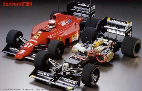 Tamiya 58084 Ferrari F189 Late Version