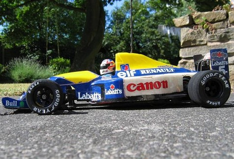 Tamiya 58105 Williams FW14