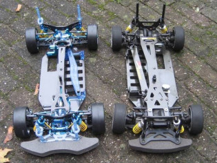 Tamiya TB Evolution vs TB Evolution 5