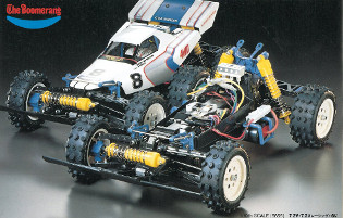 Tamiya 58055 The Boomerang