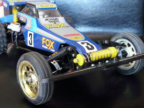 Tamiya 58051 The Fox as it arrived
