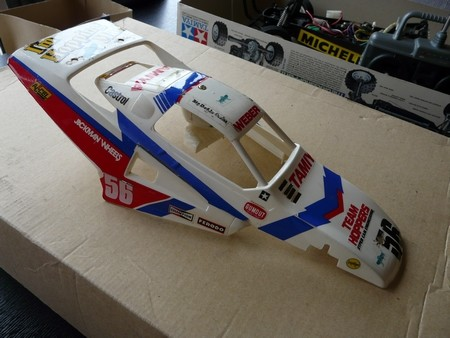 Tamiya 58074 The Grasshopper 2 as it arrived