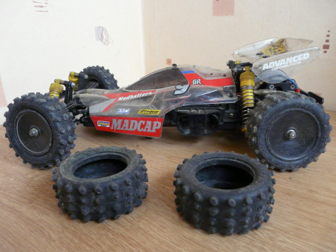 Tamiya 58082 Madcap as it arrived