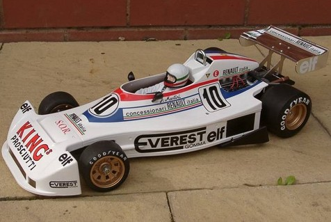 Tamiya 58014 Martini Mk.22 Renault Bodyshell alternative livery