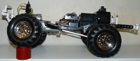 Tamiya 84386 Toyota Mountain Rider 3 Speed Complete chassis