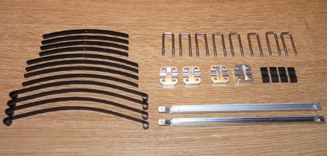 Tamiya 84386 Toyota Mountain Rider Leaf spring suspension