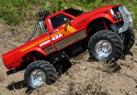 Tamiya 58397 Toyota 4x4 Pickup Montaineer Tribute by RC4ON