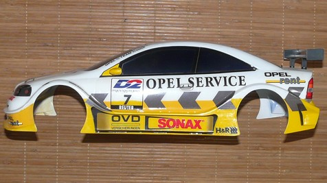Tamiya 58263 Opel V8 Coupé DTM 2000 - TL-01 as arrived