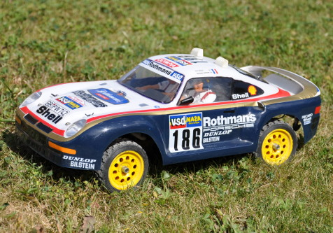 Tamiya 58059 Porsche 959 Paris-Dakar Rally Winner