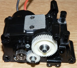 Tamiya 58163 Rover Mini Cooper 94 Monte-Carlo - M01 Front gearbox