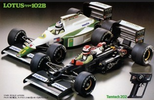 Tamiya 47009 Lotus Type 102B TamTech Third generation