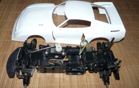 Tamiya Toyota Celica LB Turbo Group 5 on M-02 chassis project