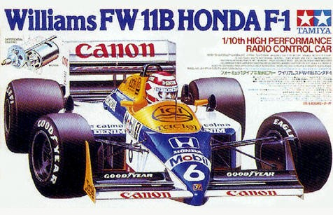 Tamiya 58069 Williams FW11B Honda F1 Boxart