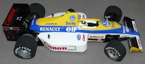 Tamiya 58069 Williams FW11B Honda F1 as arrived