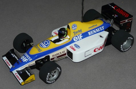 Tamiya 58069 Williams FW11B Honda F1