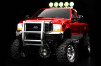 Tamiya 23644 Ford F350 High-Lift Full Operation Finished Red