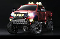 Tamiya 23665 Toyota Tundra High Lift Full Operation Finished Model Mica Red