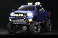 Tamiya 23667 Toyota Tundra High Lift Full Operation Finished Model Mica Blue