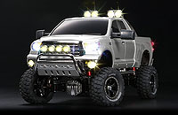 Tamiya 23668 Toyota Tundra High Lift Full Operation Finished Model Mica Silver