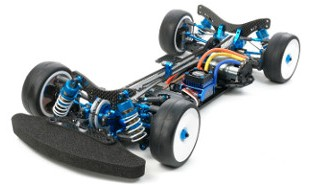 Tamiya 42200 TRF417 with gear differential unit 2