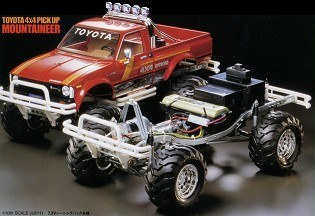 Tamiya 58111 Toyota 4x4 Pick Up Mountaineer