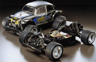 Tamiya 58252 Blitzer Beetle Chrome