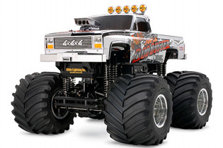 Tamiya 58423 Super Clod Buster Chrome Edition